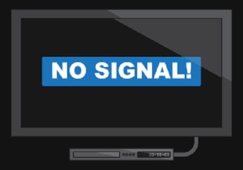 Camera không có tín hiệu trên màn hình