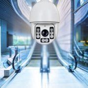 Camera speed dome giúp quan sát tốt về đêm