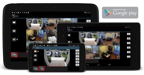 Camera không xem được qua điện thoại bằng phần mềm IVMS-4500 hoặc iDMSS