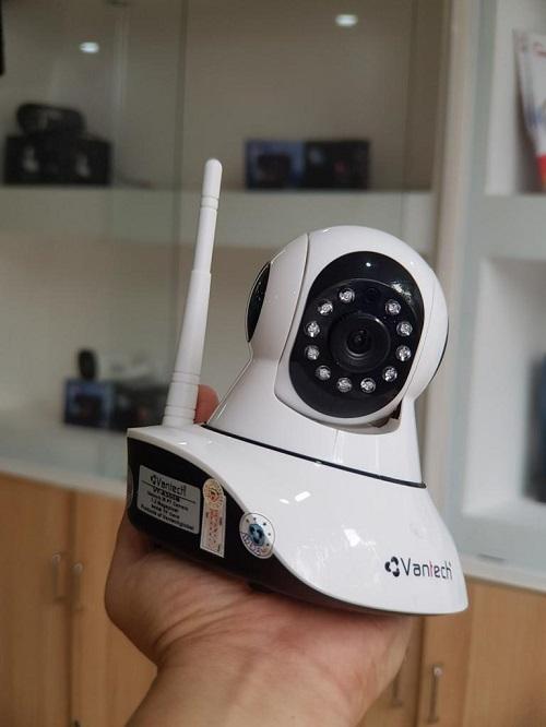 Camera IP Wifi 2.0MP Vantech 6300 thiết kế nhỏ gọn